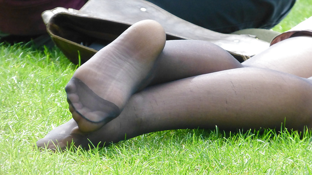 Lesbian Feet Nylon Worship