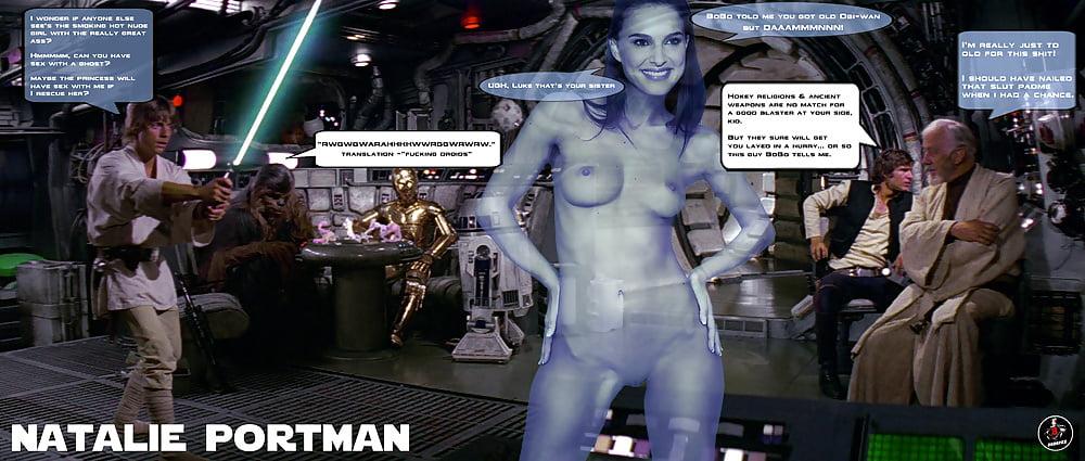 Натали Портман Звездные Войны Эротика