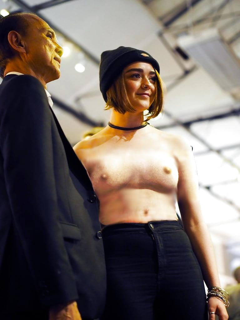 Nipple maisie williams Game of