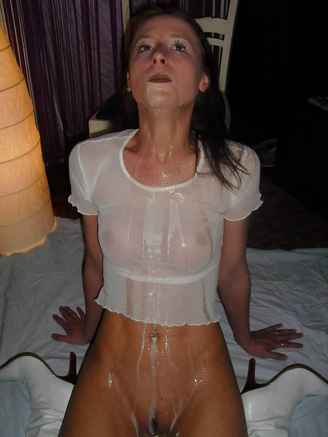 Cum on her clothing porn pics 6