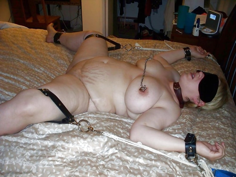 Bbw tied up nude pic