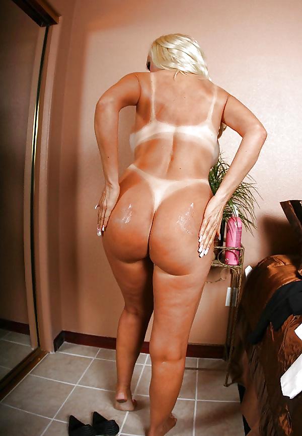 Big ass shower pics