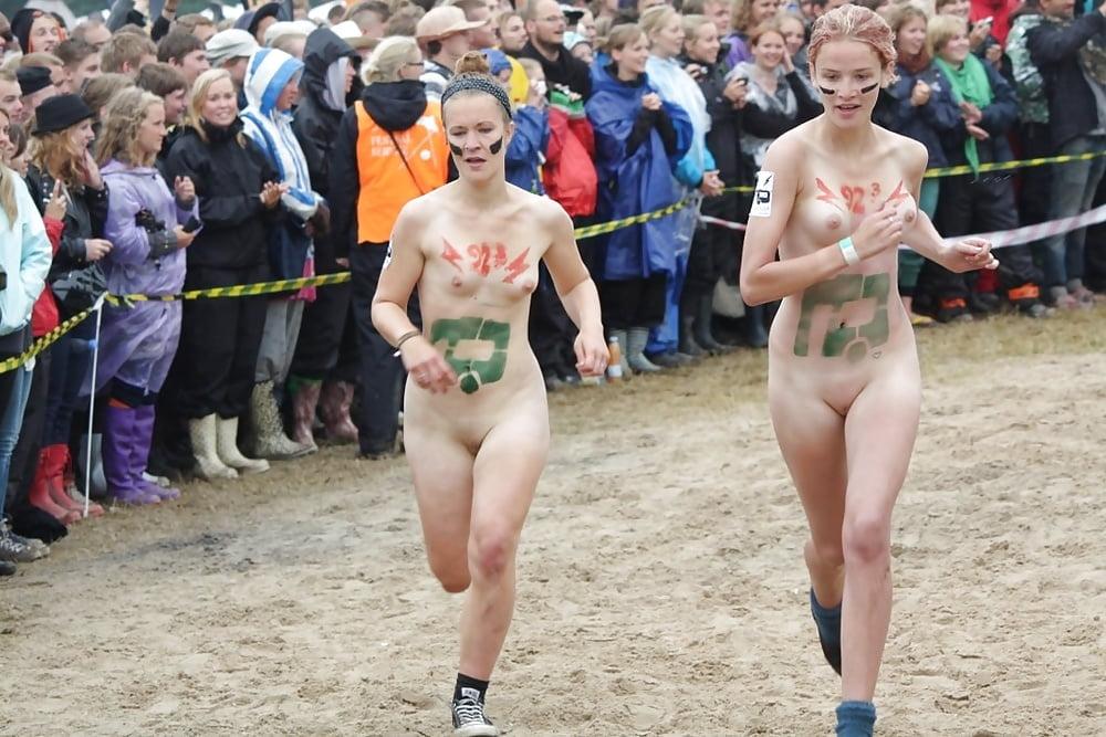 Roskilde festival naked run public nudity