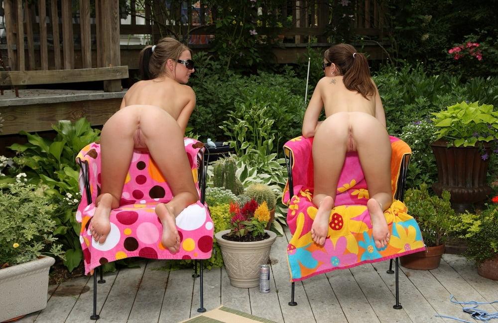 Dark haired girls nude
