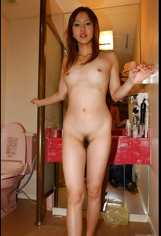Japanese girls self nude