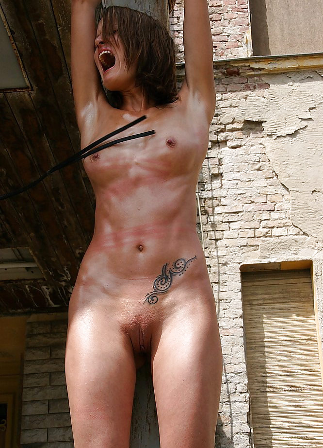 Nude woman being flogged, black xxx model india