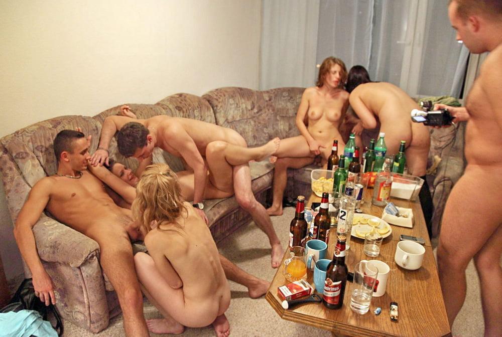 частная русская пьяная секс оргия - 6