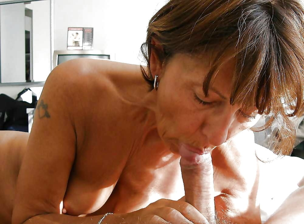 Mature Booty Mom Lucille Blow And Fuck Lucky Son