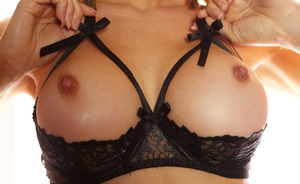 Секс фото грудь лифчик — pic 7