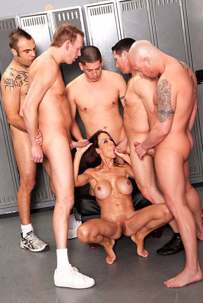 Gangbang With Fitness Models