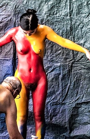 Swimsuit Celebrity Nude Body Paint Pictures