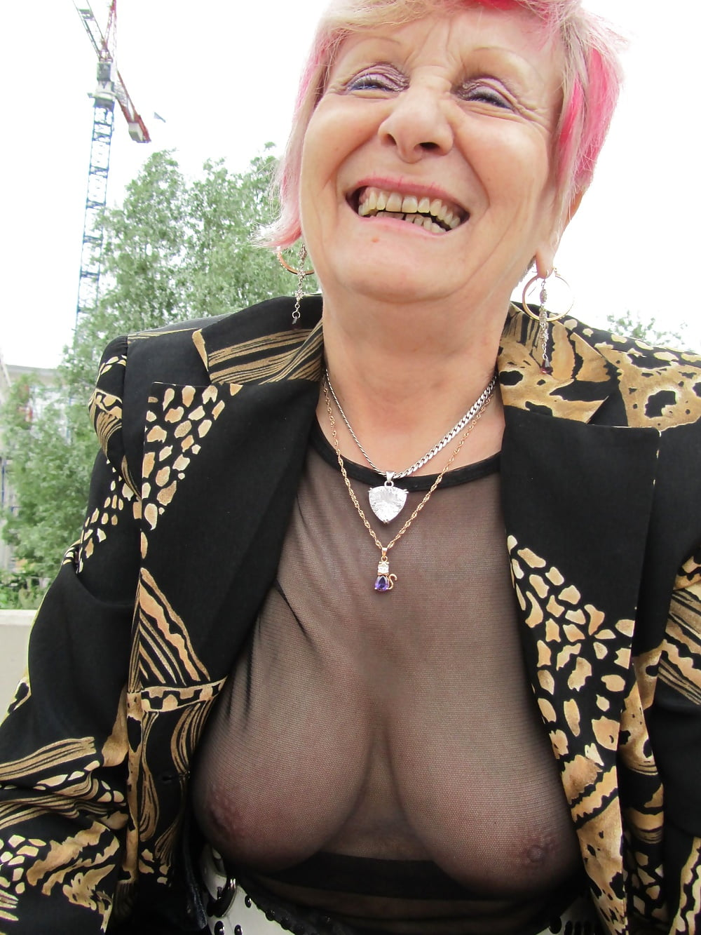 Sexy Old French Granny - 46 Pics  Xhamster-4023