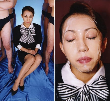 Asian bukkake before and after pictures