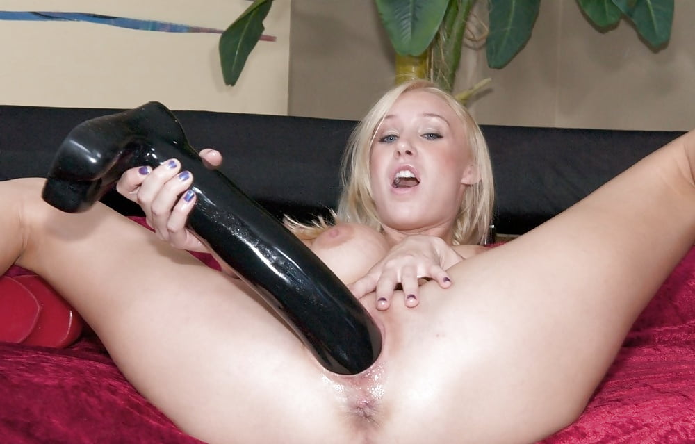 Big dildo for