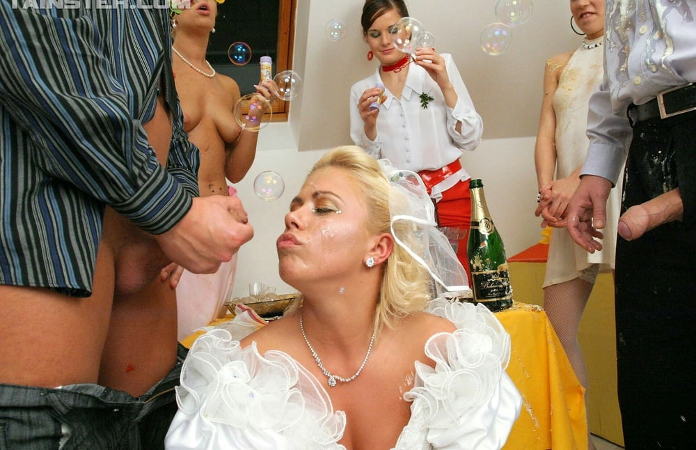 bukkake-wedding-receptiontures