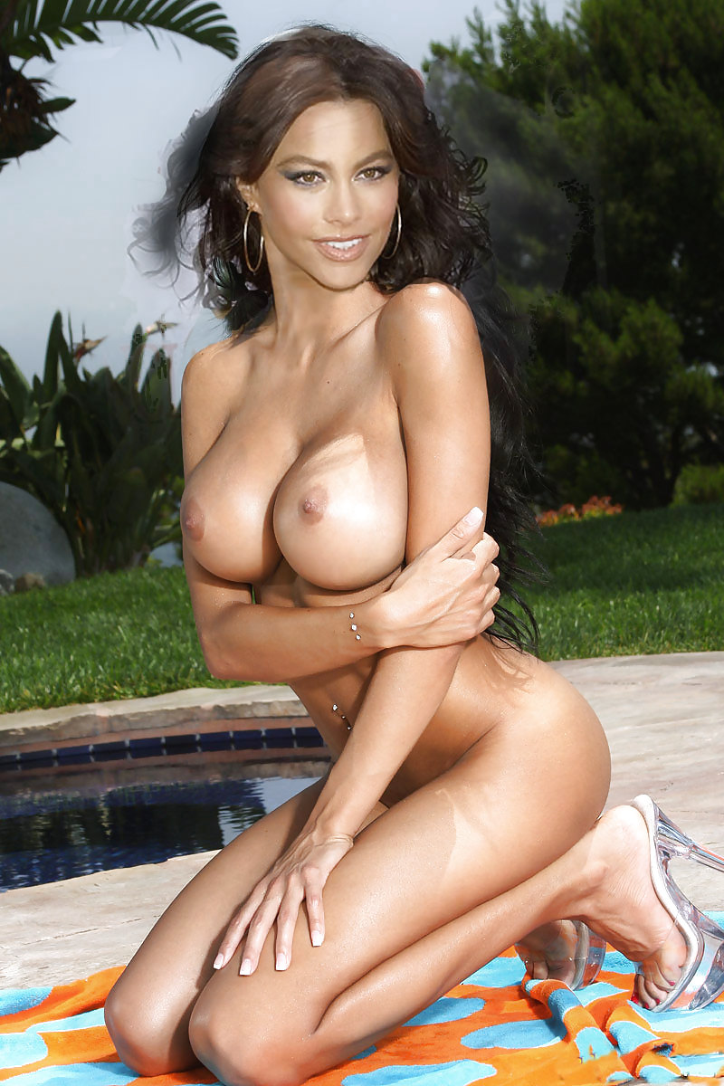 Sofia vergara the nip slip