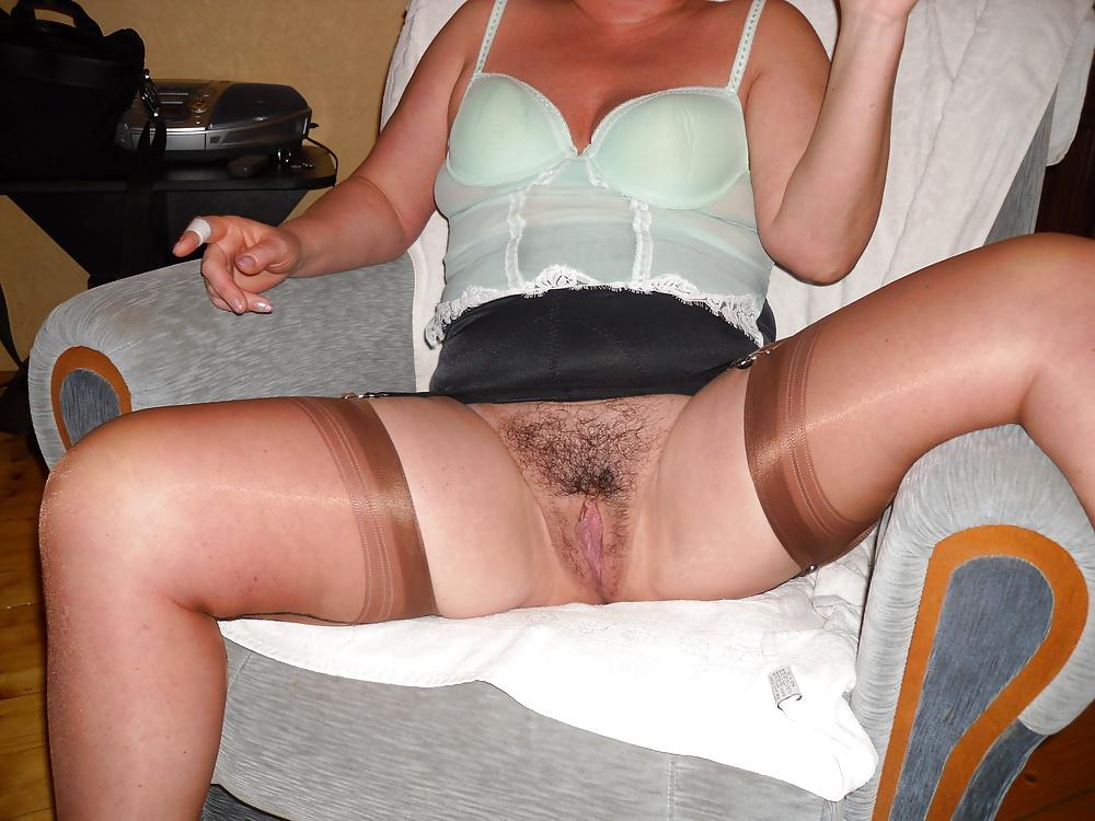 Women Wearing Open Bottom Girdles