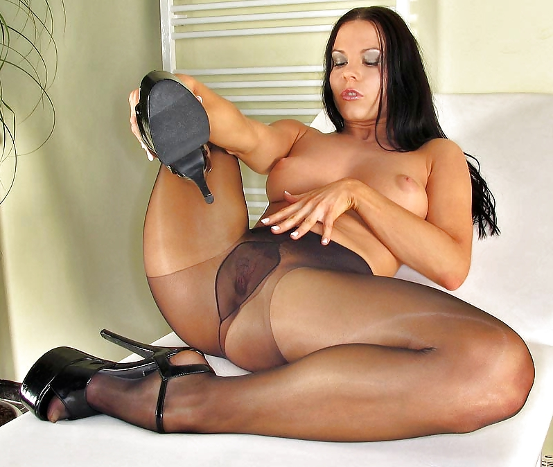 Bed stockings oily open file ultra