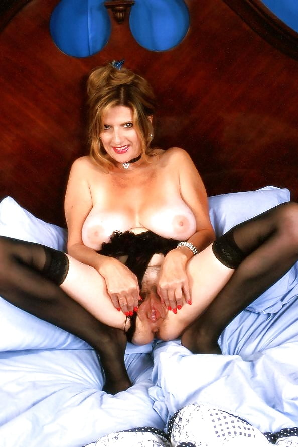 Hairy mature lingerie-1776