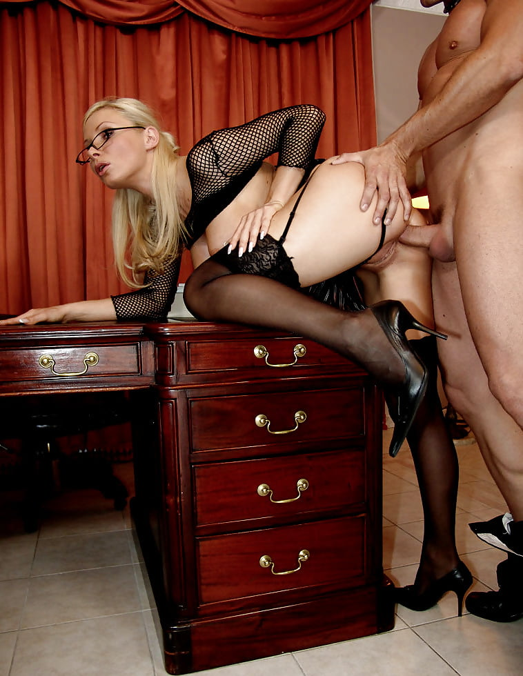 Sex xxx stockings table