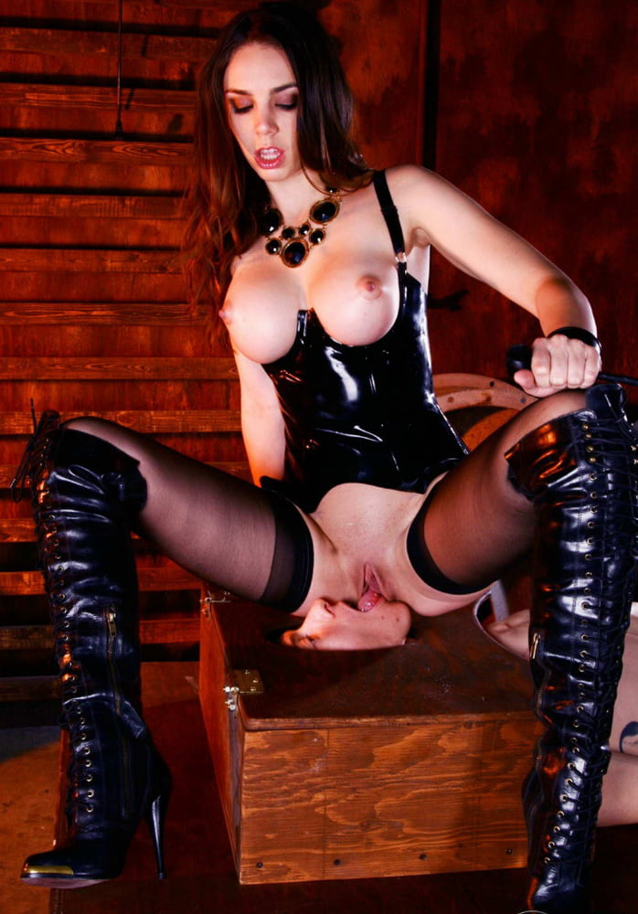 Leather And Latex Boots Femdom Sex Hottestleakedbabes 1