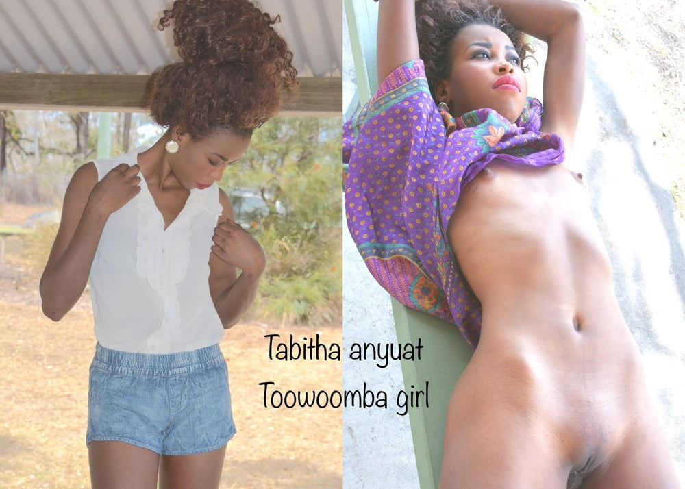 Dressed undressed - Tabitha Anyuat- 13 Pics