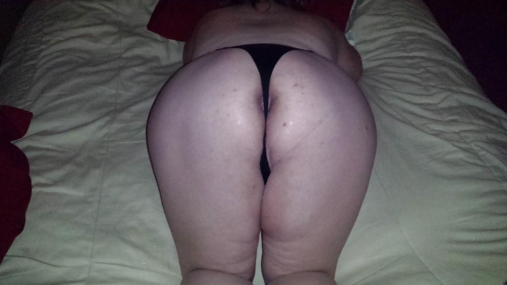 Juicy plump ass