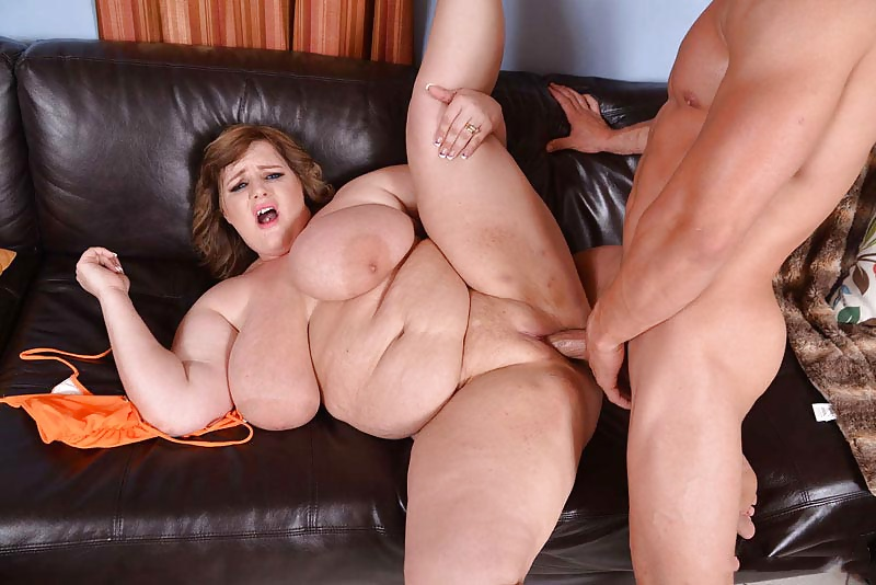 Monster boob chubby stepmom rough fucked