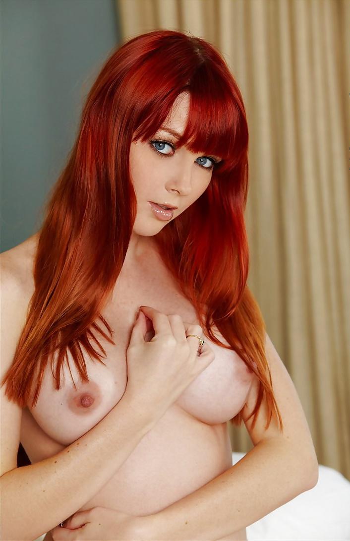 Can you name some hot redhead pornstars