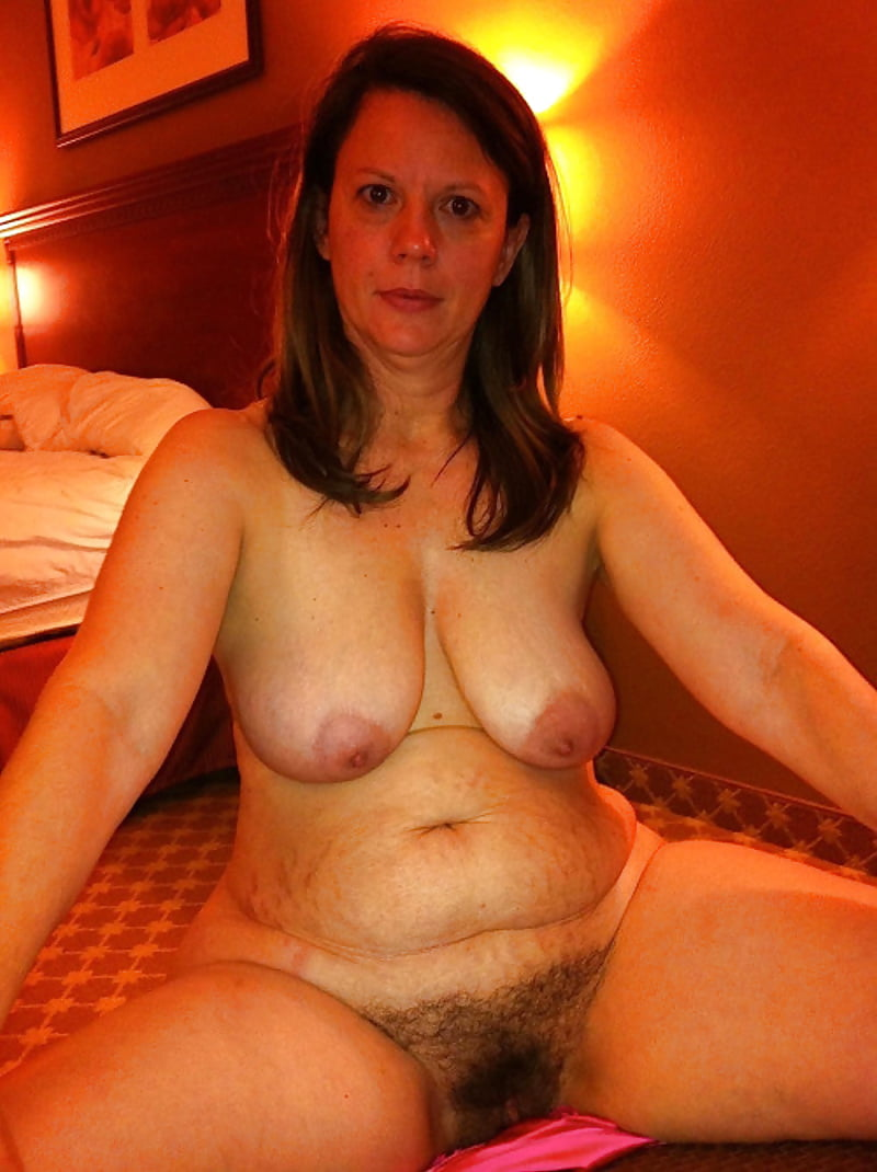 Thick and hairy women-6873