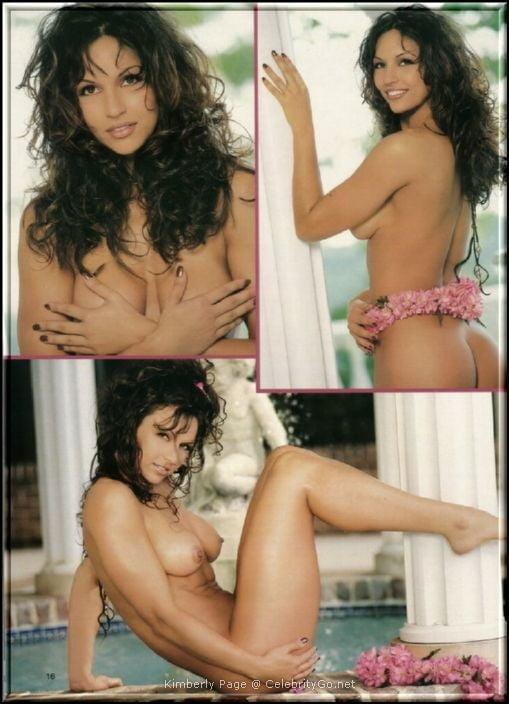 Nude kimberly page Kymberly Paige