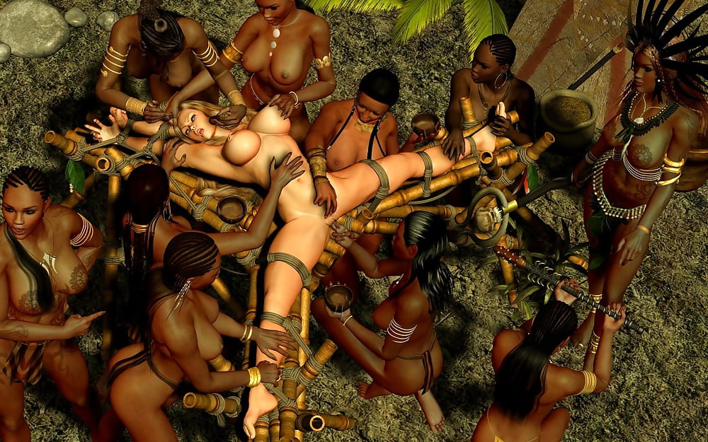 Naked tribal girl fucked 11