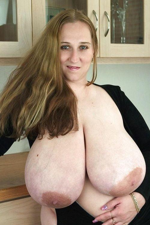 Lopsided Saggy Mature Nipples