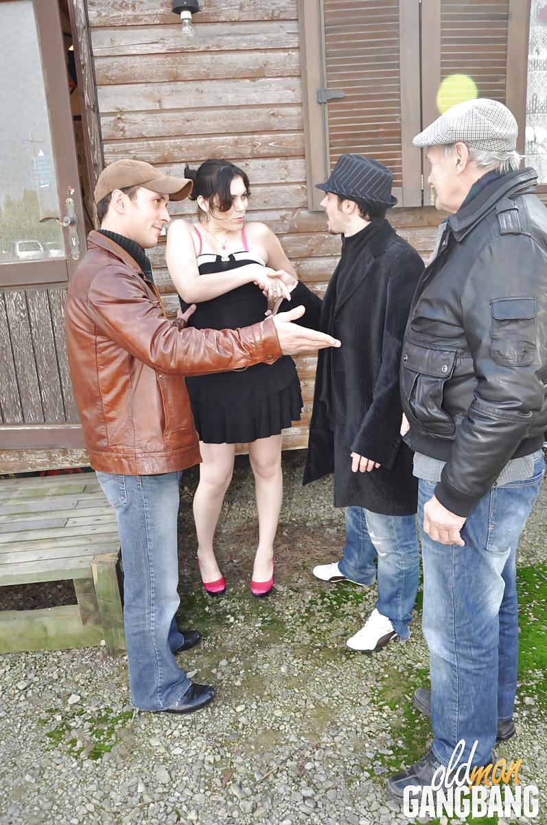 Older women having group sex-9665