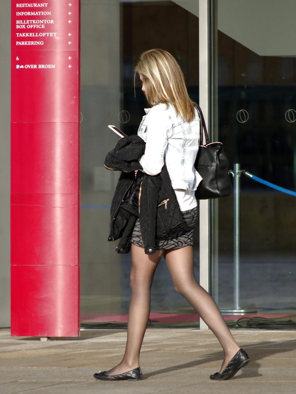 Candid Street Pantyhose Tights -9 - 139 Pics - Xhamstercom-6670