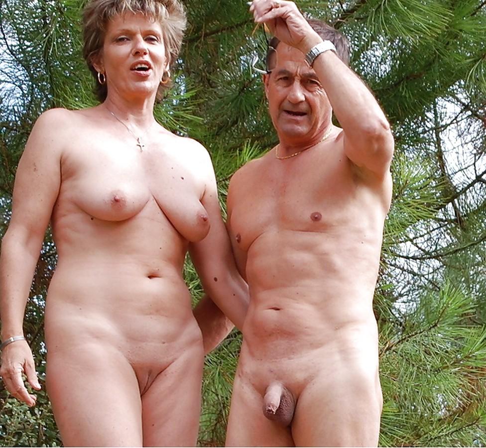 пожилые люди фото голышом - 8