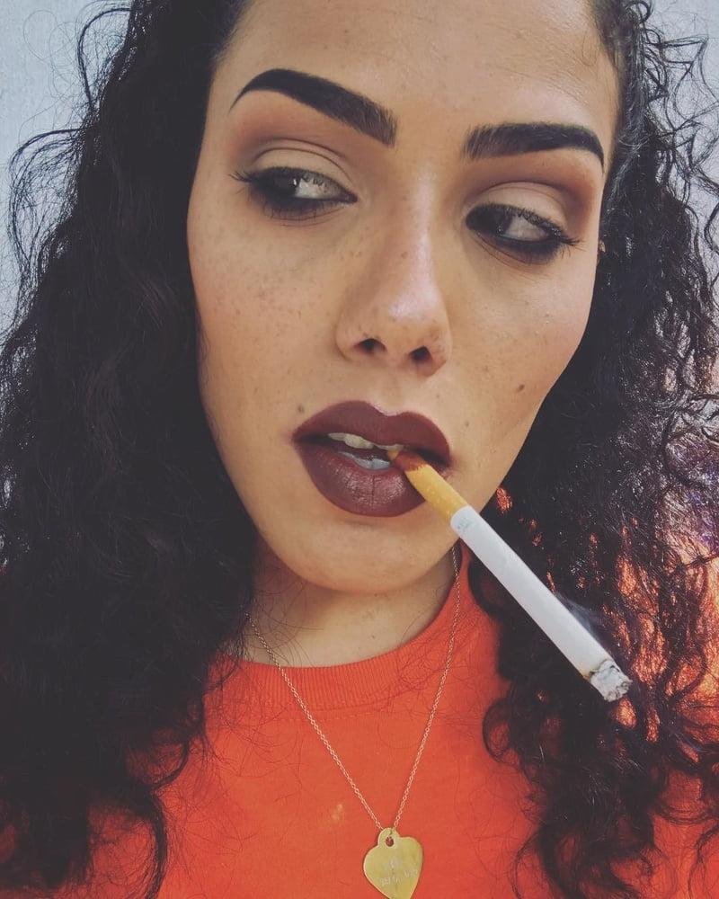 Smoking girl xxx