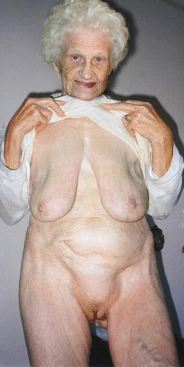 Nonne old women with big saggy wrinkly boobs