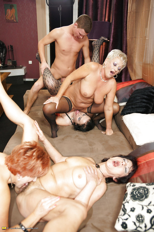 Granny group sex pics 13