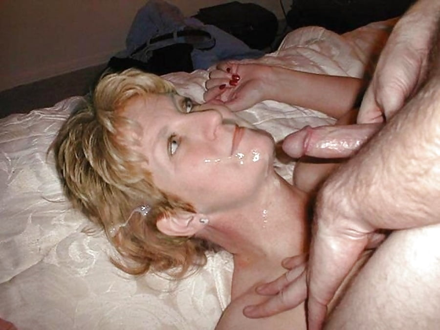 Husband and wife cumshots