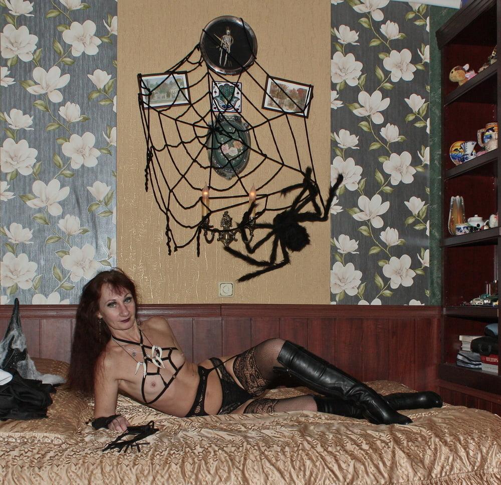 In Black Lingerie - 30 Pics