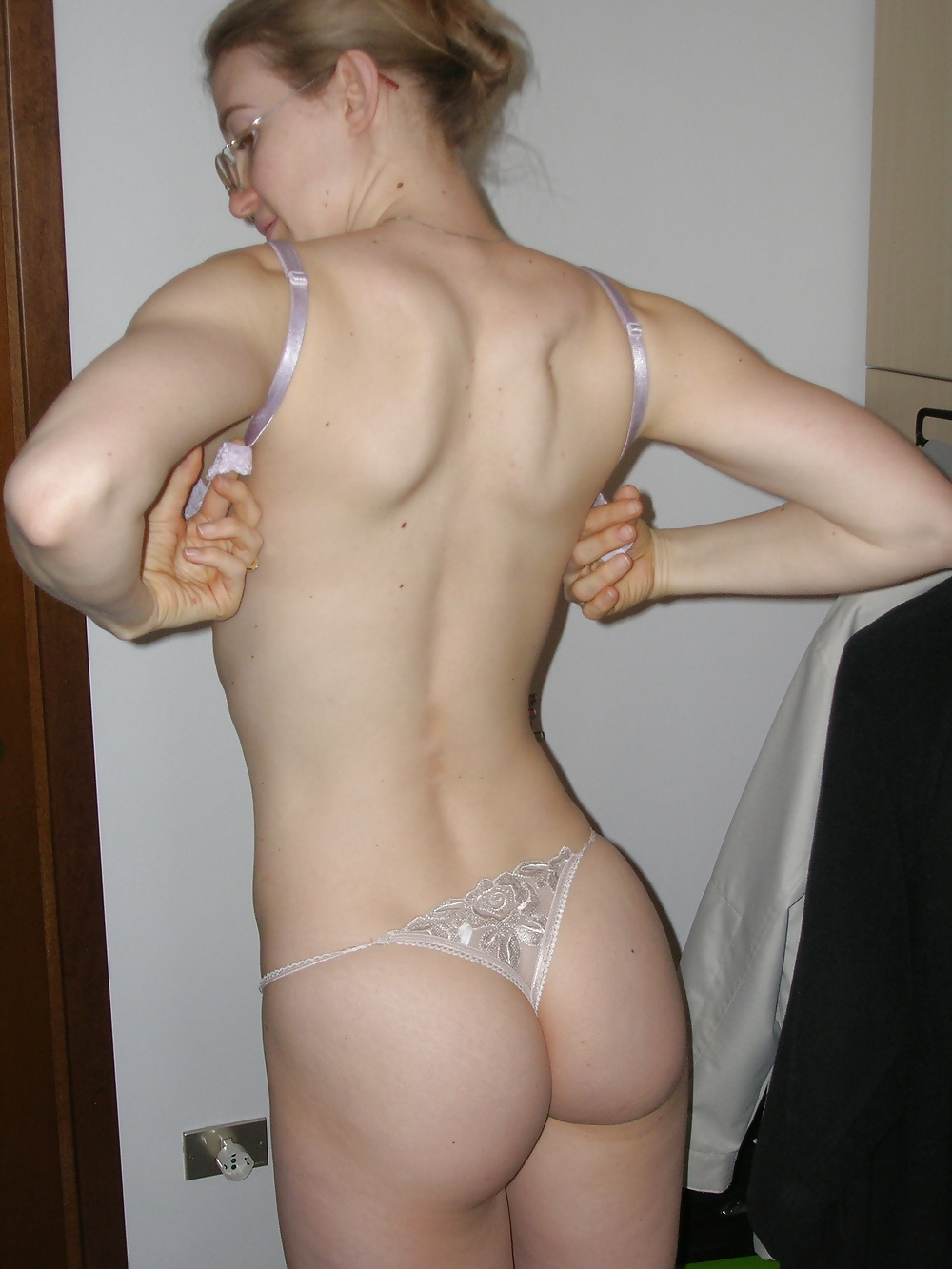 Personal pictures wife in thong photo