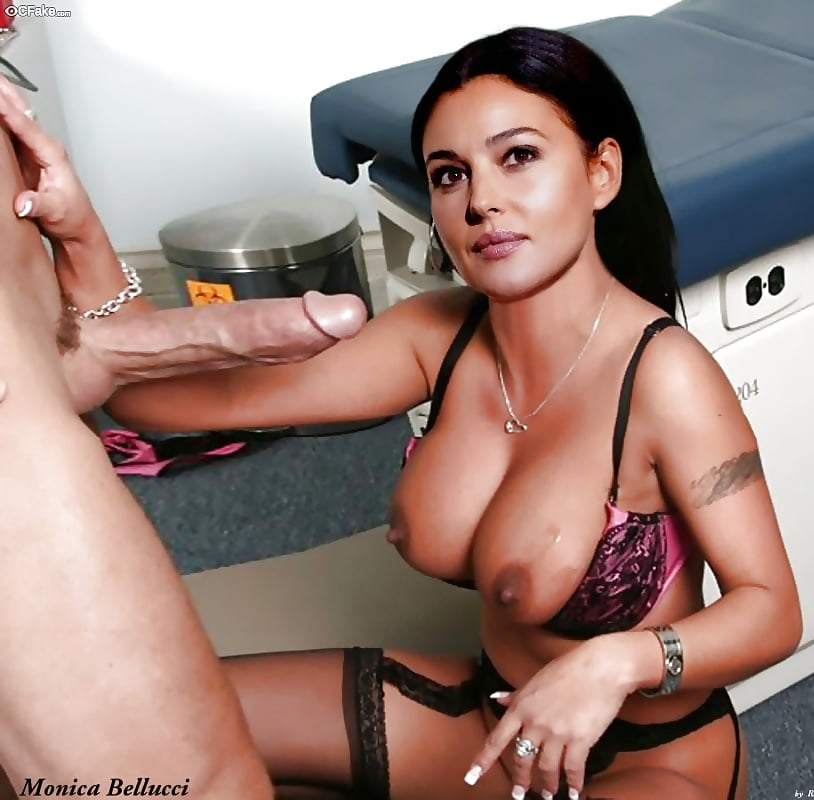Monica bellucci porno fake — photo 4