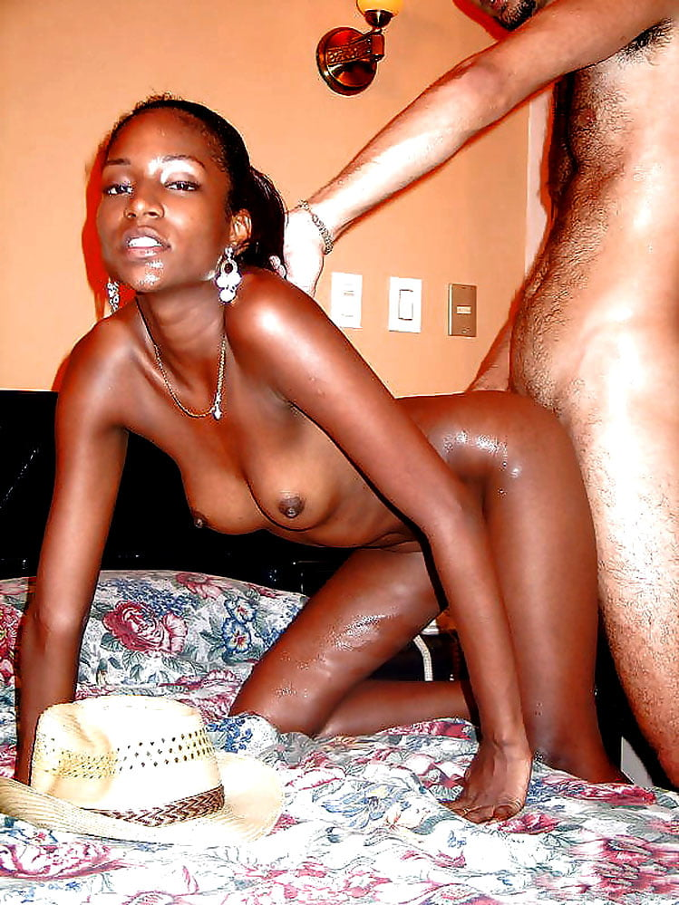 Skinny african girl naked