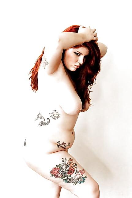 Chubby girl tattoos