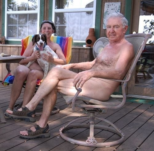 Nudist sailing vacation
