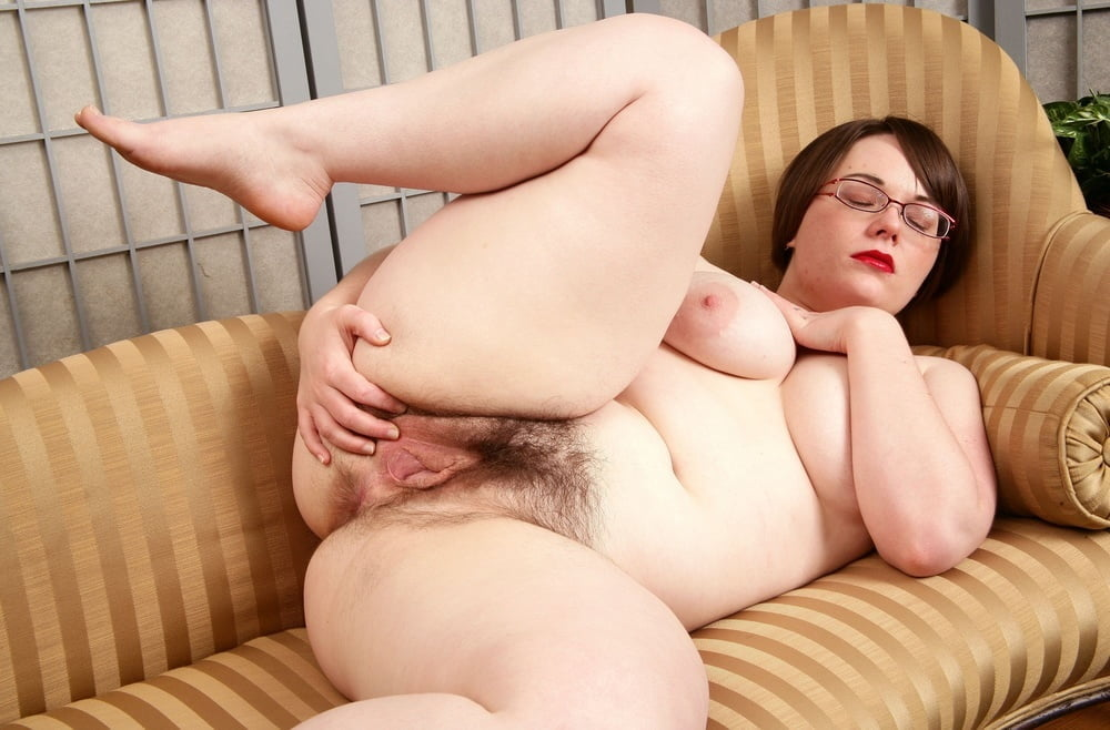 Chubby Hairy Brunette Teen