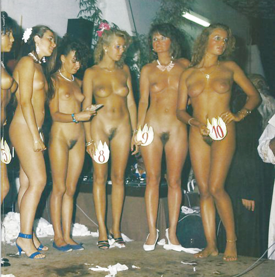 Nude naked girl beauty pageant — pic 2