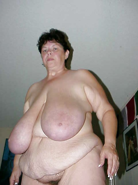 huge fat white women naked
