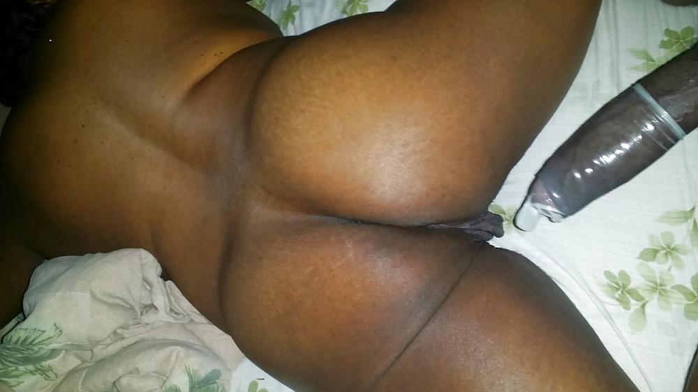 Pussy black fat wet